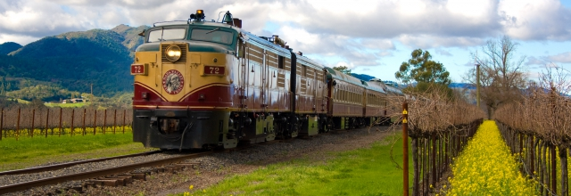 Ride and Dine on the Napa Valley Wine Train