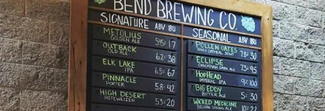 Enjoy a Beer at Bend Brewing Company