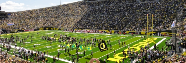 Take in an Oregon Ducks Football Game