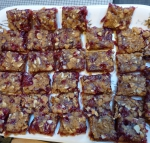 Cranberry Almond Streusel Bars