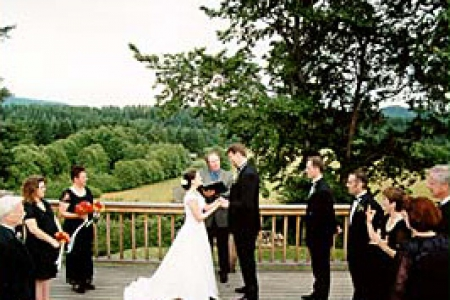 Romantic Wedding in the San Juan Islands
