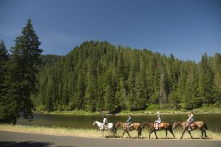 Go Horseback Riding in the Selway-Bitterroot Mountains